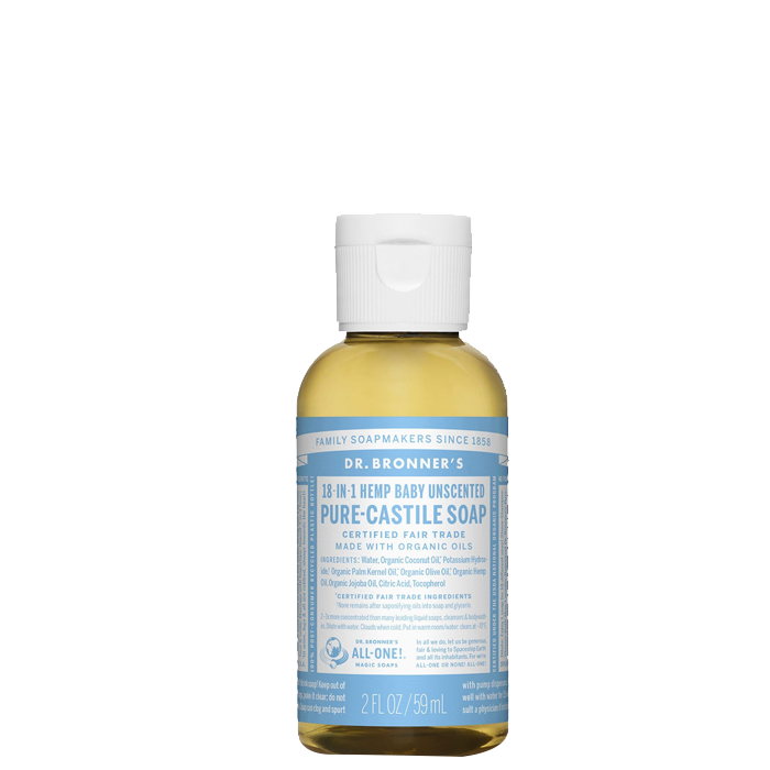 Baby Unscented Liquid Soap, 60 ml