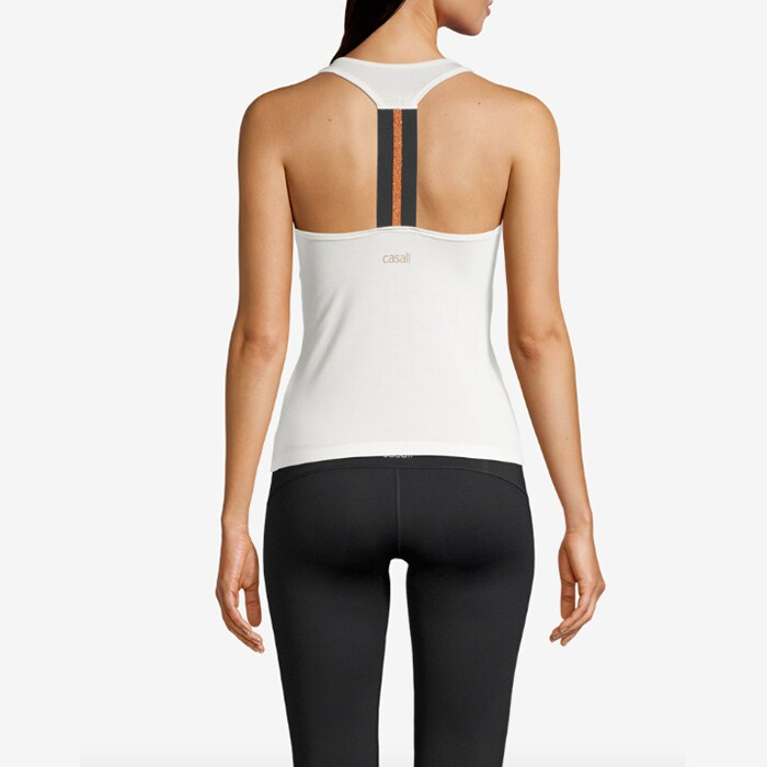 Fearless Racerback, Active White