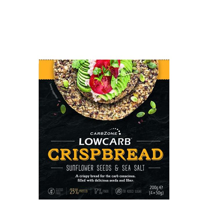 Low Carb Crisp Bread, 200 g