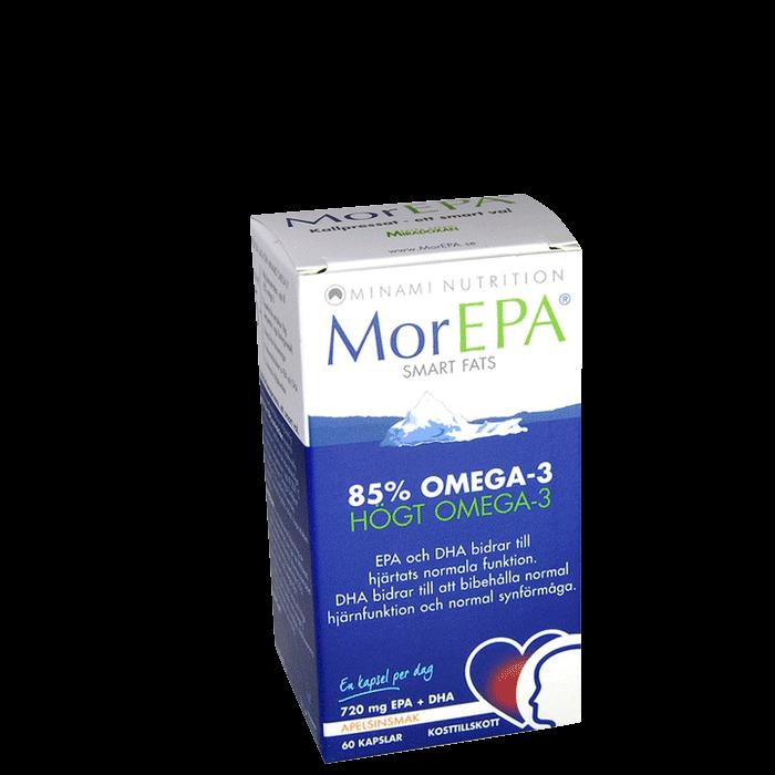 MorEPA Smartfats, 60 kapslar
