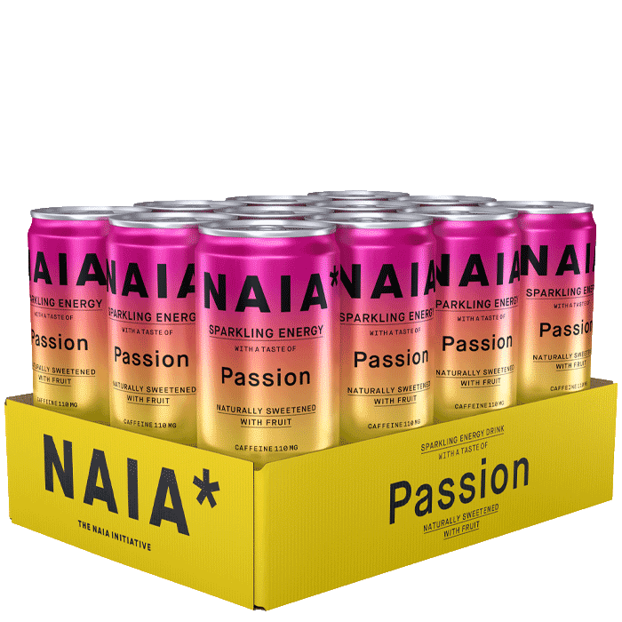 12 x NAIA Energy Drink, 330 ml