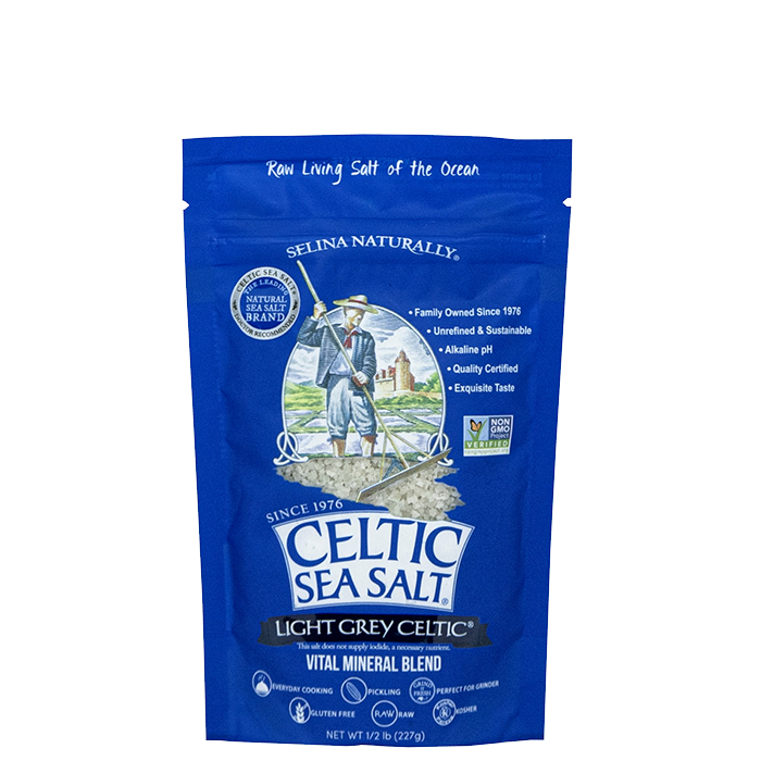 Celtic Sea Salt, Light Grey Celtic, 227 g