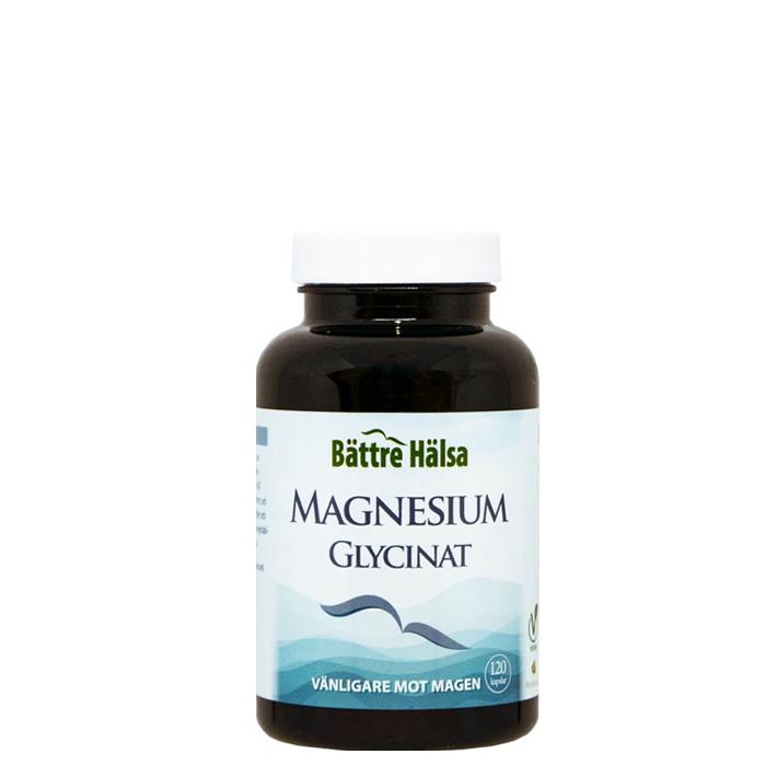 Magnesiumglycinat, 120 kapslar
