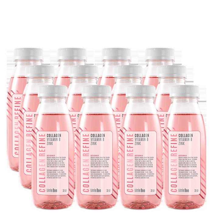 12 x Collagen Refine, 330 ml, Red Berries