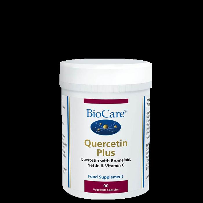 BioCare Quercetin Plus, 90 kapslar
