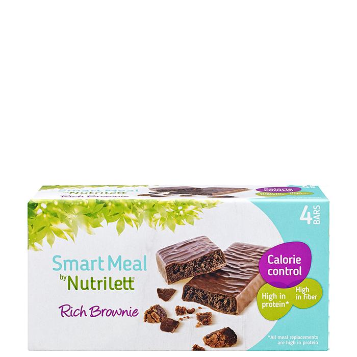 Nutrilett Rich Brownie bar 58 g, 4-pack