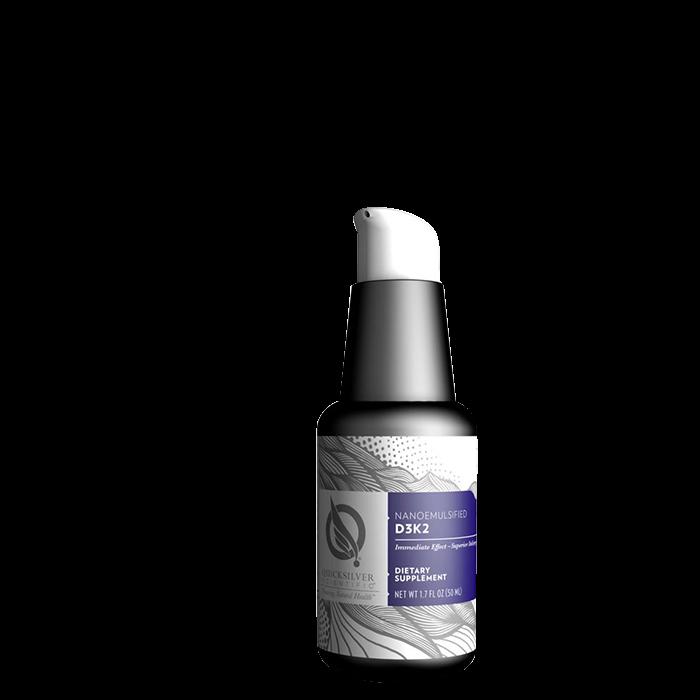 Quicksilver Scientific Nanoemulsified D3+K2, 50 ml