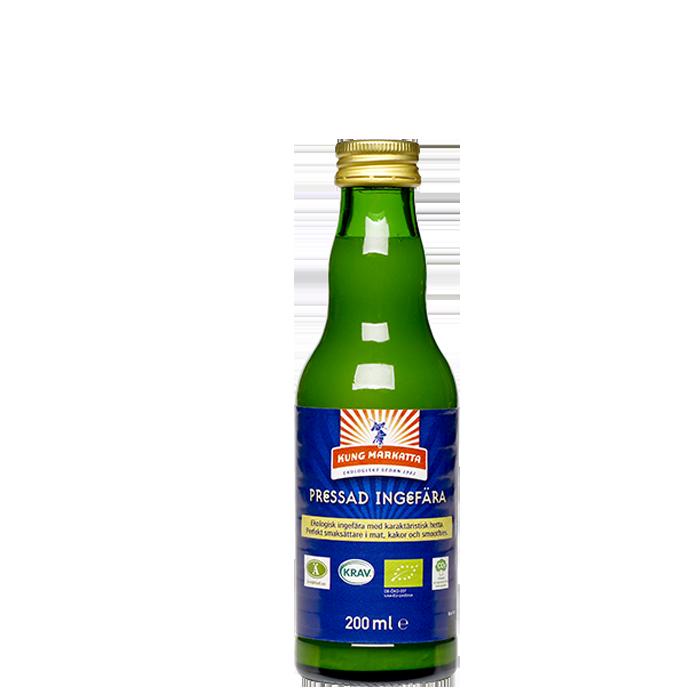 Pressad ingefära, 200 ml
