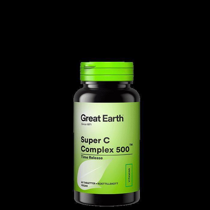C-vitamin Complex 500, 60 tabetter