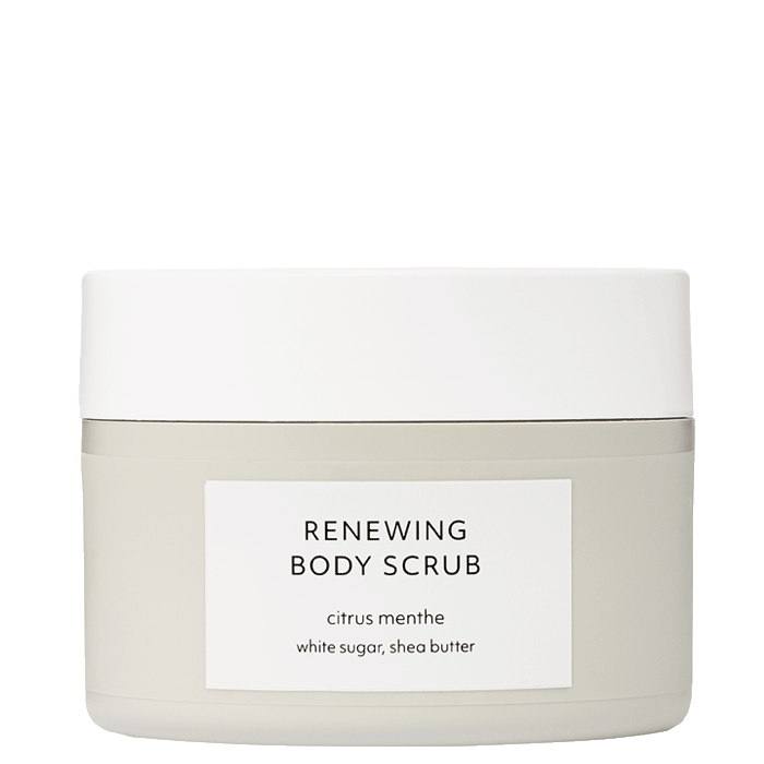 Citrus Menthe Renewing Body Scrub, 200 ml