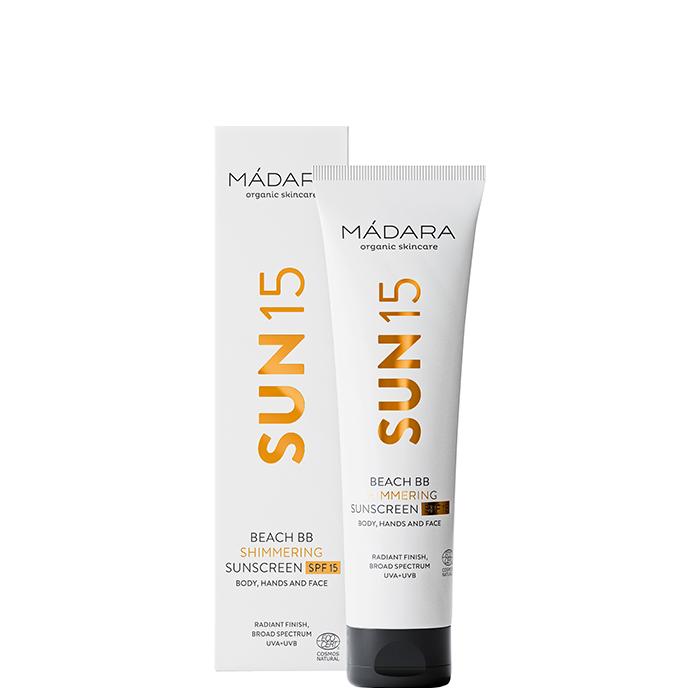 Beach BB Shimmering Sunscreen SPF15, 100 ml