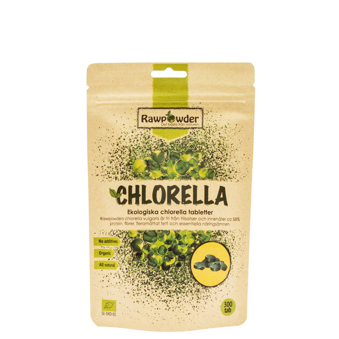 Chlorella Tabletter EKO, 300 st
