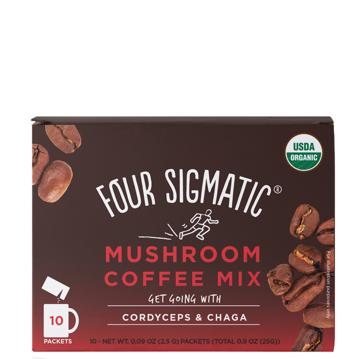 Mushroom Coffe Mix with Cordyceps & Chaga, 10 portioner