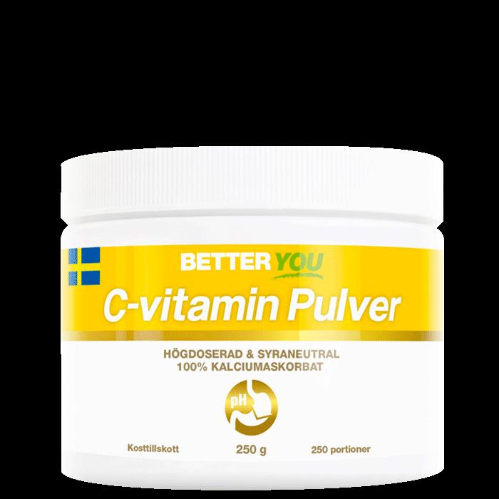 C-vitamin Pulver, 250 g