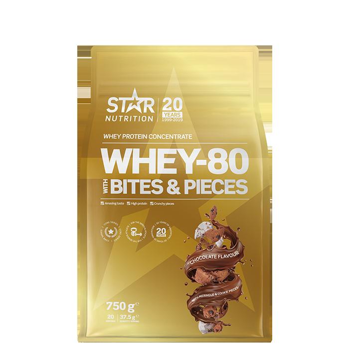 Whey-80, 750 g, Bites & Pieces