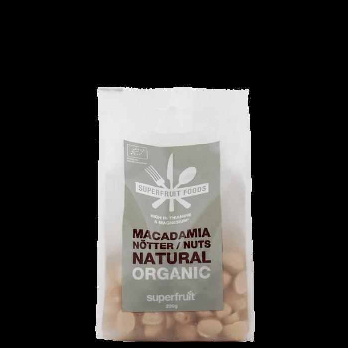 Macadamianötter Naturella, 200g, EU EKO