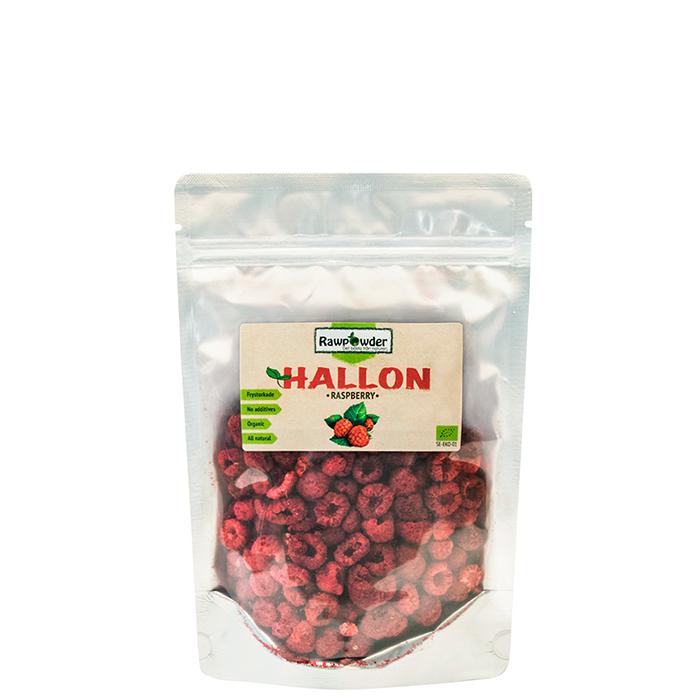 Frystorkade Hallon, 50 g