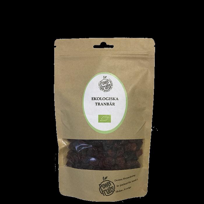 Ekologiska Tranbär, 250 g