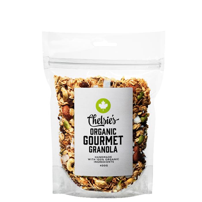 Chelsie's Organic Gourmet Granola, 400 g