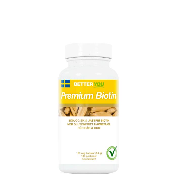 Premium Biotin, 100 kaps