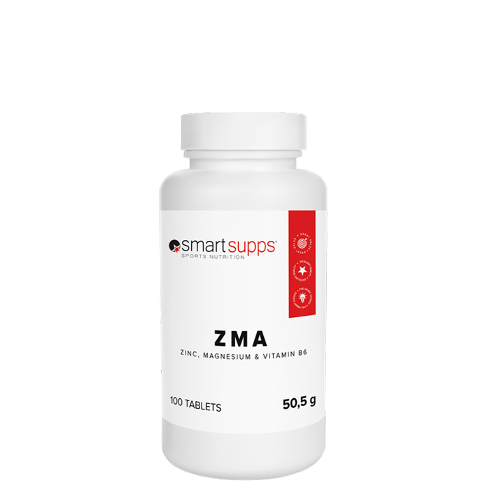 SmartSupps ZMA, 100 tabs