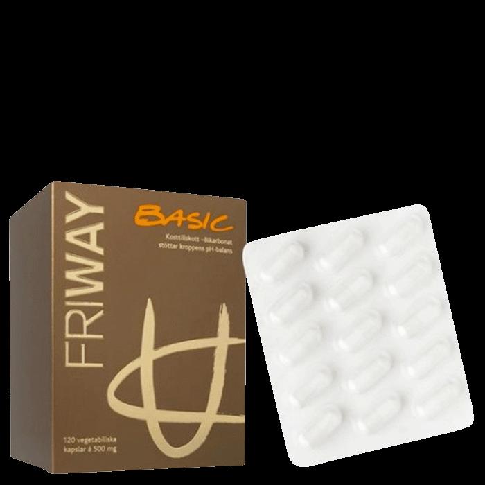 Friway Basic, 120 tabletter