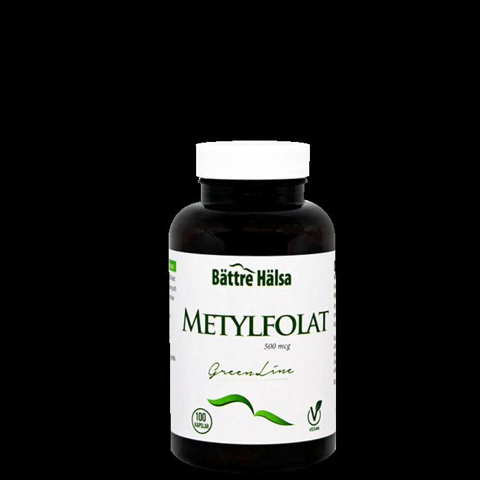Metylfolat, 100 kapslar