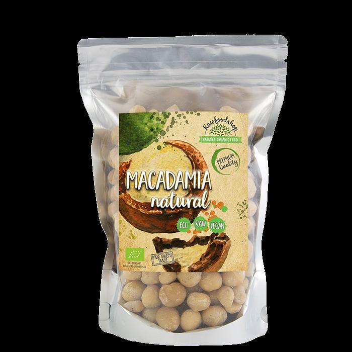 Macadamianötter EKO, 500 g