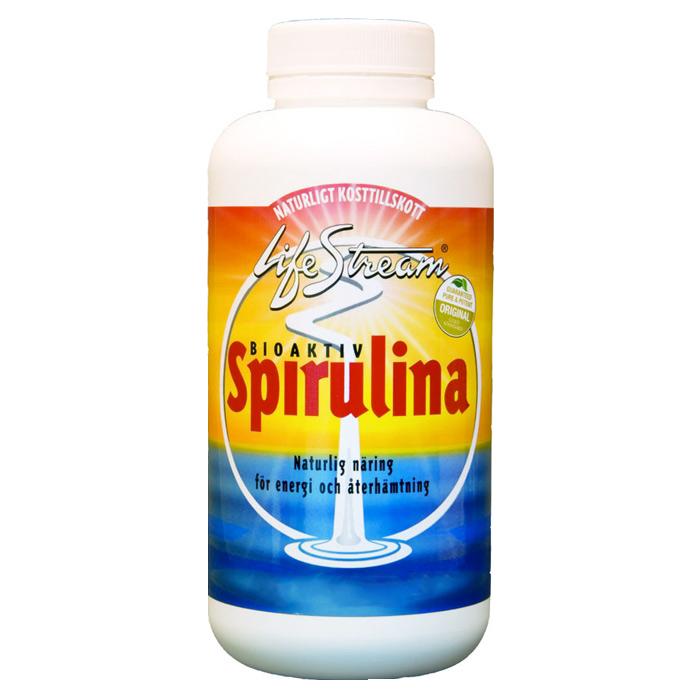 Lifestream Spirulina, färskvattensalg, tabletter