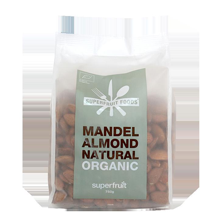 Mandlar Naturella EKO, 750 g