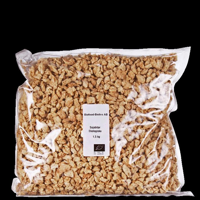 Ekologiska Sojabitar, 1,5 kg