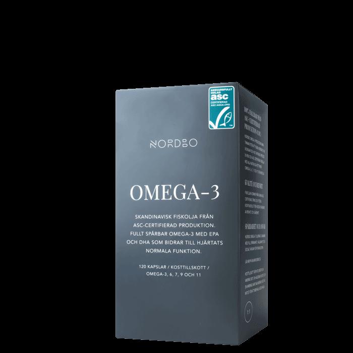 Nordbo Omega-3 ASC, 120 kapslar