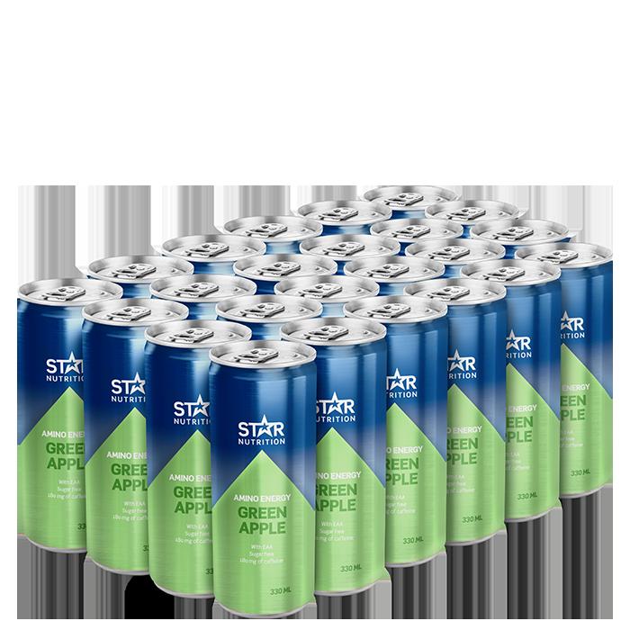24 x Star Nutrition Amino Energy, 330 ml