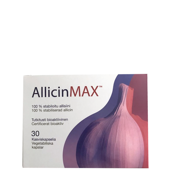 Allicinmax Powder 180 mg, 30 kapslar