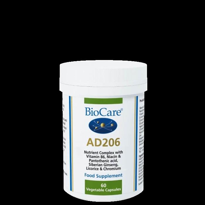 BioCare AD 206, 60 kapslar