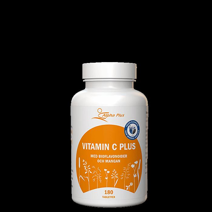 Vitamin C Plus, 180 tabletter