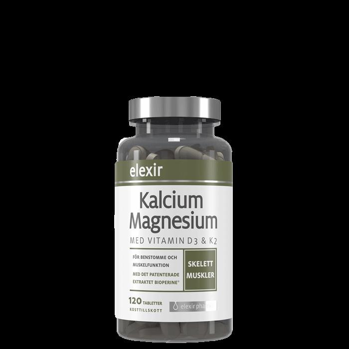 Kalcium Magnesium, 120 tabletter