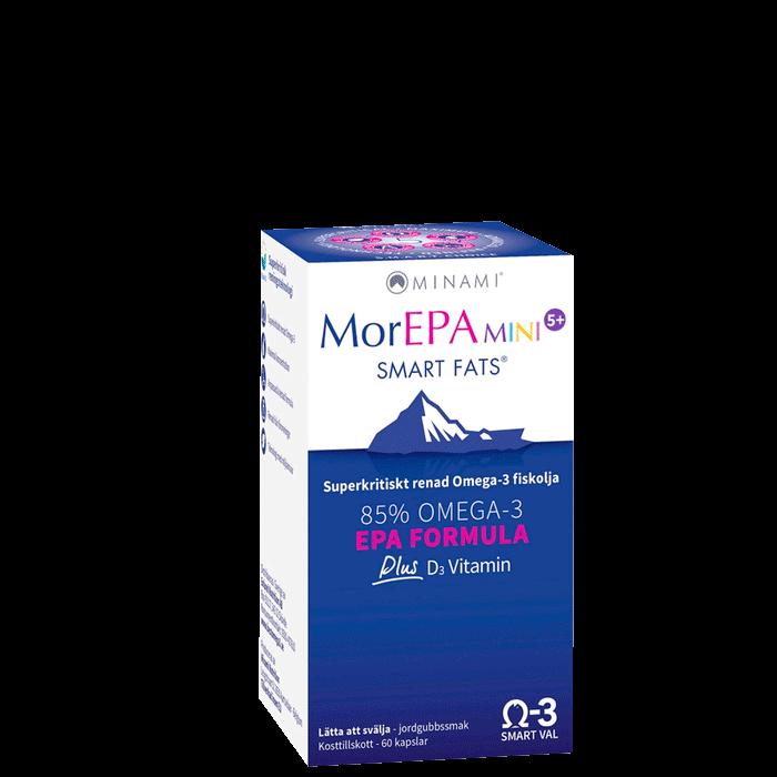 MorEPA Mini Smart Fats, 60 kapslar