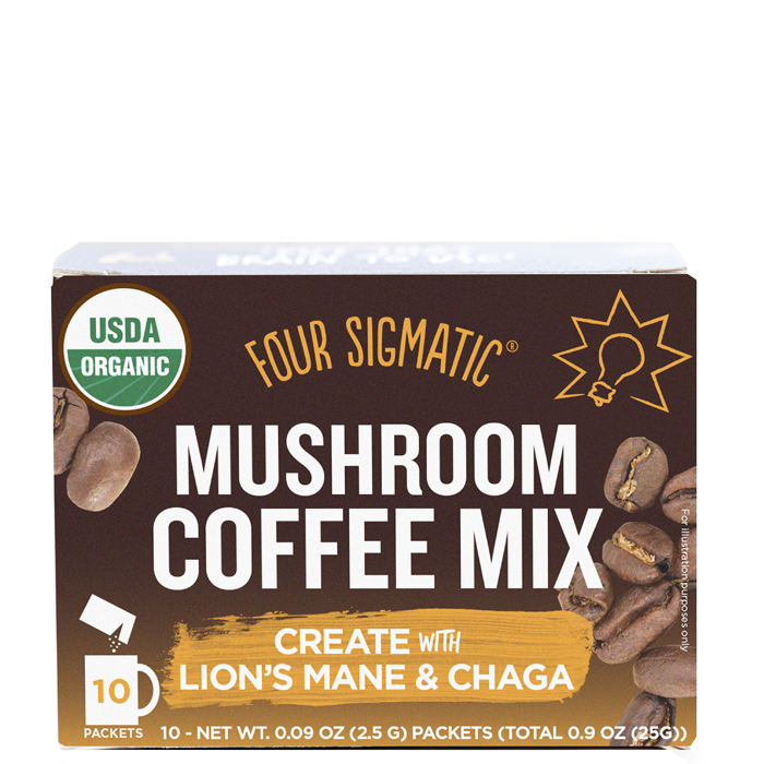 Mushroom Coffe Mix with Lion