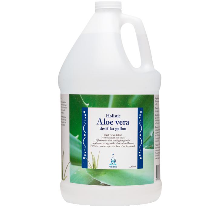 Aloe Vera Destillat Gallon, 3.8 Liter