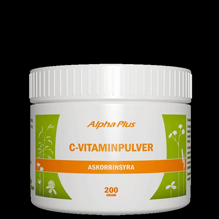 C-vitaminpulver, 200 g