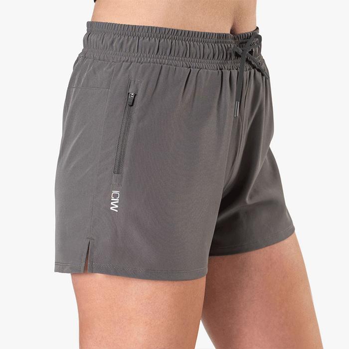 Devotion Running Shorts, Dark Grey