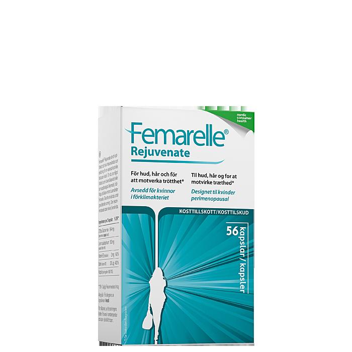 Femarelle Rejuvenate, 56 kapslar