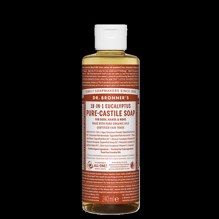 Eucalyptus Liquid Soap, 240 ml