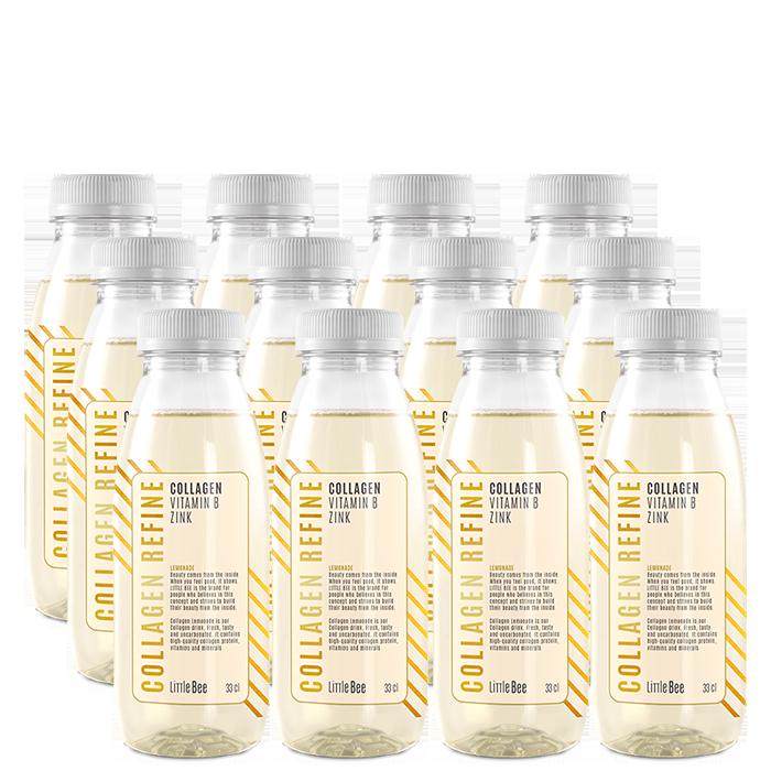 12 x Collagen Refine, 330 ml, Lemonade