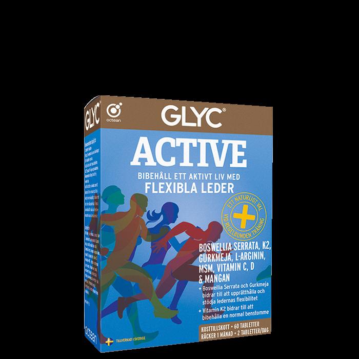 Glyc Active, 60 kapslar