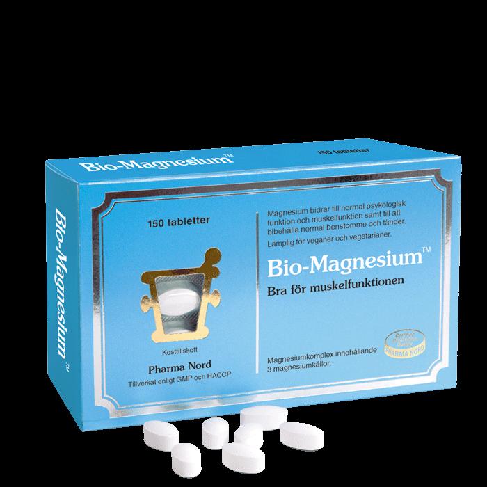 Bio-Magnesium, 150 tabletter
