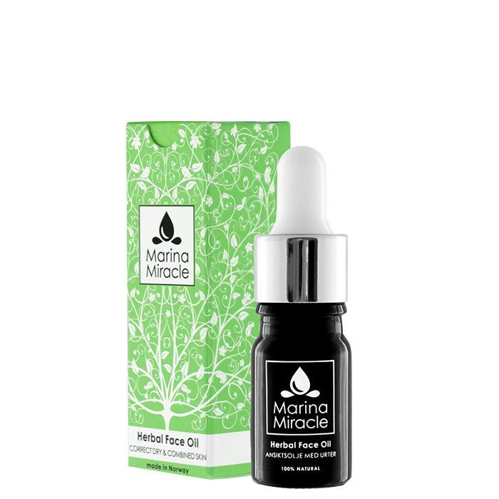Herbal Face Oil - Small, 5 ml
