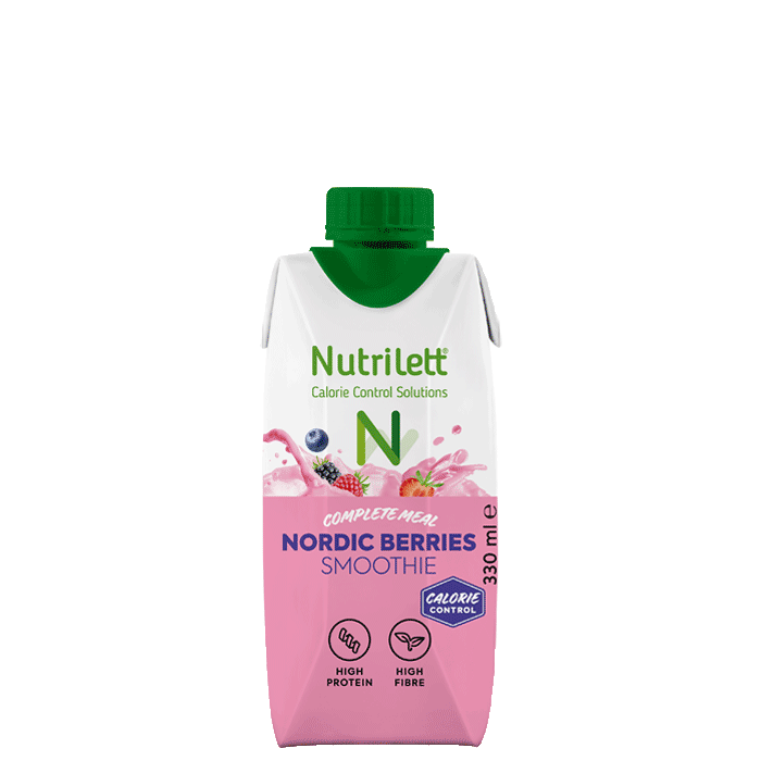 Nutrilett Nordic Berries Smoothie, 330 ml