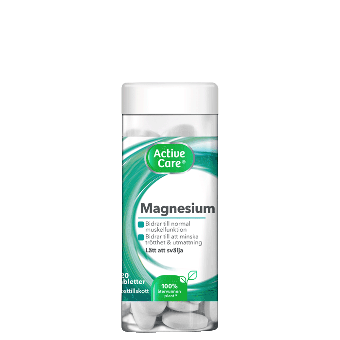 Active Care Magnesium 250 mg, 120 tabletter